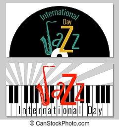 インターナショナル, day., フライヤ, でき事, ジャズ