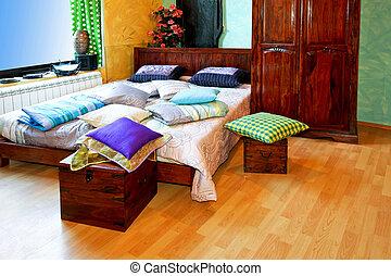 インド, 横, 寝室