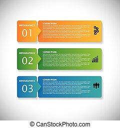 ウェブサイト, これ, 連続, &, 使われた, ラベル, banners., マーケティング, ステップ, ベクトル, infographic, カラフルである, グラフィック, 単純である, -, ありなさい, プレゼンテーション, 広告, ∥など∥, webdesigns, 材料, ビジネス, 缶