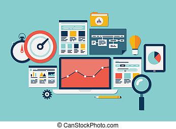 ウェブサイト, seo, analytics, アイコン