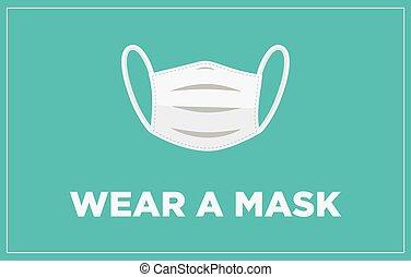 ウエア, マスク, 旗