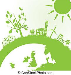 エコロジー, 力, 背景