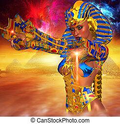 エジプト人, 女, magic!, ファラオ