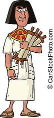 エジプト人, 役人, 古代