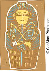 エジプト人, 色, 石棺