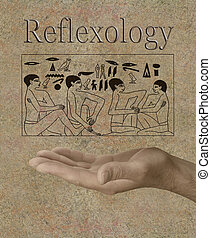 エジプト人, reflexology, hieroglyphics