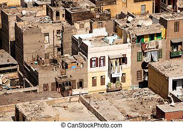 エジプト, カイロ, 住居, スラム