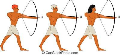 エジプト, 古代, 射手