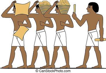 エジプト, 古代, 建築者