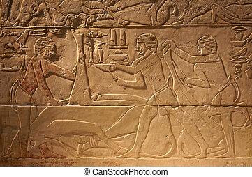 エジプト, 古代, 石, 執筆, 古い