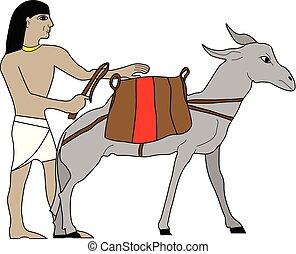エジプト, 商人, 古代
