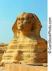 エジプト, 有名, スフィンクス, ギザ