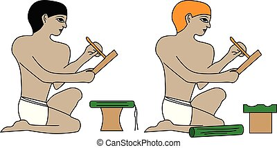 エジプト, 筆記者, 古代