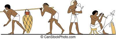 エジプト, 陶工, 古代