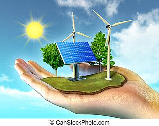 エネルギー, 回復可能