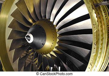 エンジン, ジェット機, 刃