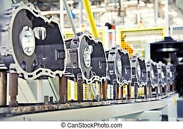 エンジン, 製造, 部分