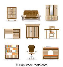 オフィス家具, 家