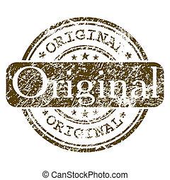 オフィス, 切手, -, eps, ゴム, original., 8