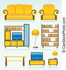オブジェクト, 部屋, 暮らし