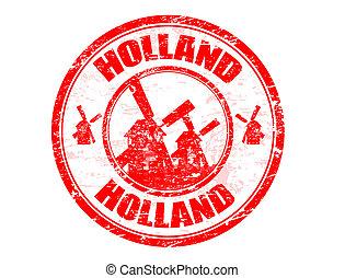 オランダ, 切手