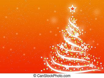 オレンジ, クリスマス, 背景