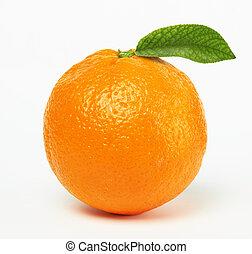 オレンジ, 葉