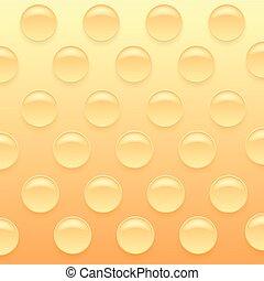 オレンジ, bubblewrap, バックグラウンド。