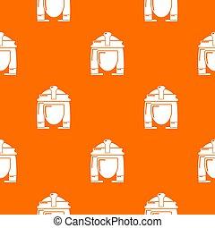 オレンジ, cleopatra, パターン