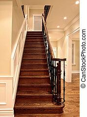 オーク, 階段