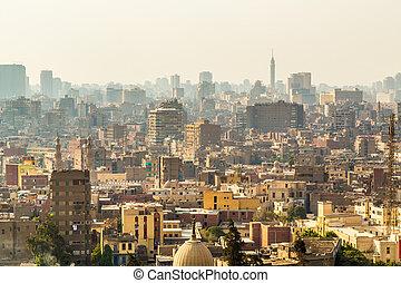 カイロ, 空中写真