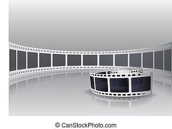 カメラ, 回転しなさい, フィルム