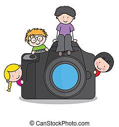 カメラ, 子供