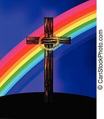 カラフルである, 虹, 交差点