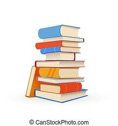 カラフルである, 隔離された, 教科書, 山, 白