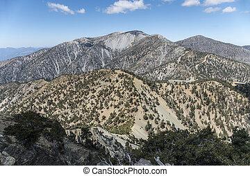 カリフォルニア, 山, 郡, los, baldy, アンジェルという名前の人たち, サミット
