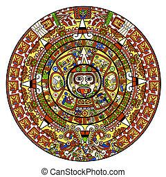 カレンダー, maya