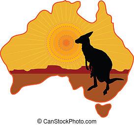 カンガルー, オーストラリア