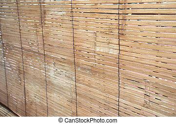 カーテン, 竹