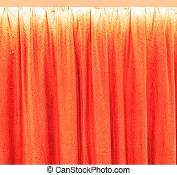 カーテン, 背景, 手ざわり