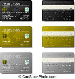 カード, 借方