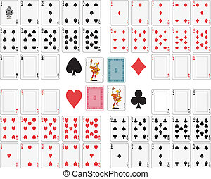 カード, 遊び