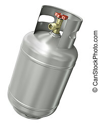 ガス, 容器