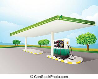 ガソリンポンプ