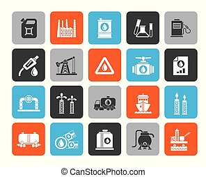 ガソリン, 産業, オイル, アイコン