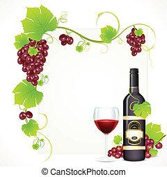 ガラスビン, ワイン