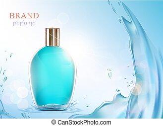 ガラスビン, perfume.