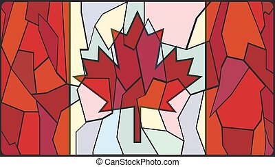 ガラス窓, 汚された, カナダ