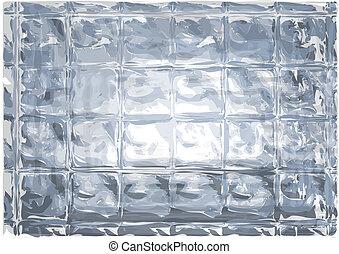 ガラス, 抽象的