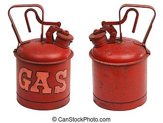 ガロン, ガス